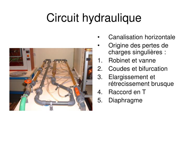 Circuit hydraulique