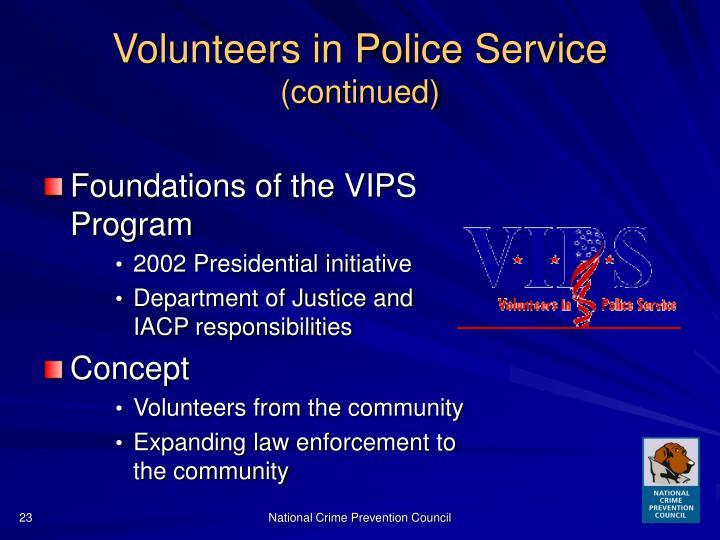 Police public relations programs vs community police