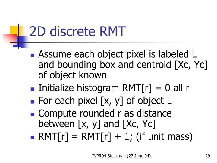 2D discrete RMT