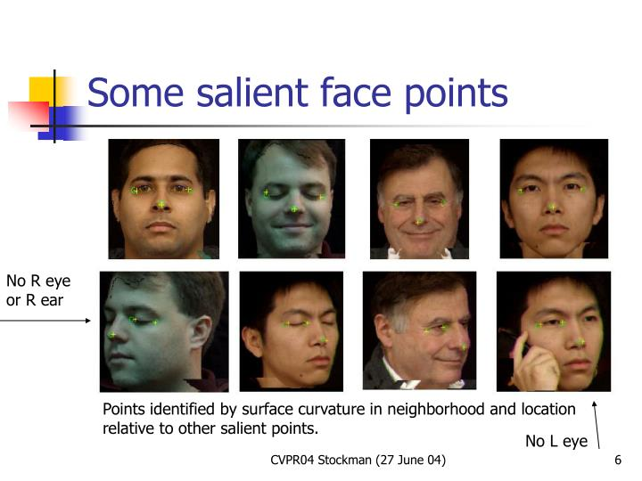 Some salient face points