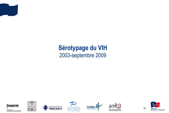 Sérotypage du VIH