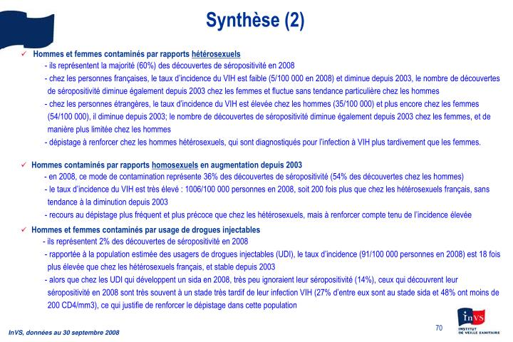Synthèse (2)