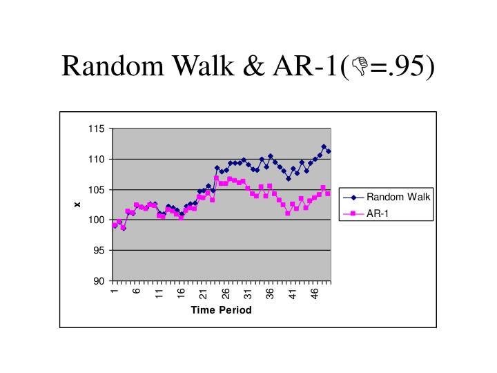 Random Walk & AR-1(