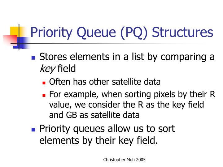 Priority Queue (PQ) Structures