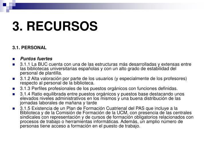 3. RECURSOS