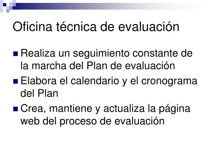 Oficina técnica de evaluación