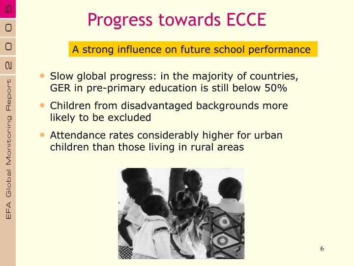 Progress towards ECCE