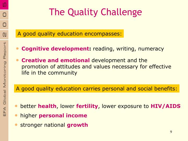 The Quality Challenge