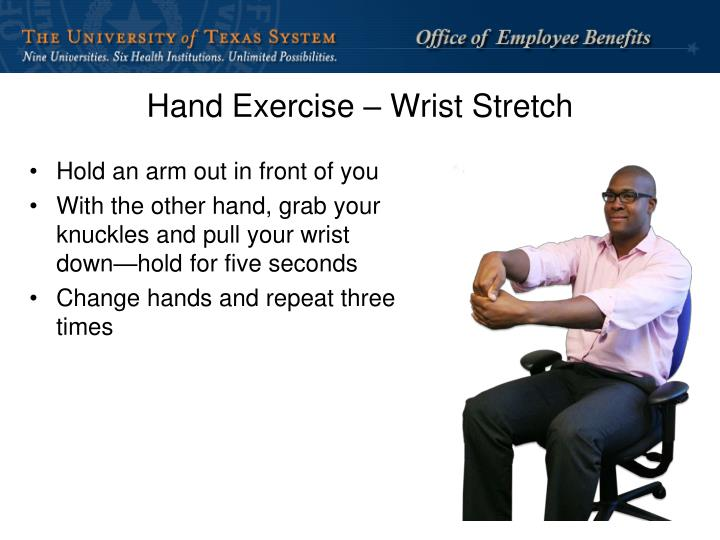 Hand Exercise – Wrist Stretch