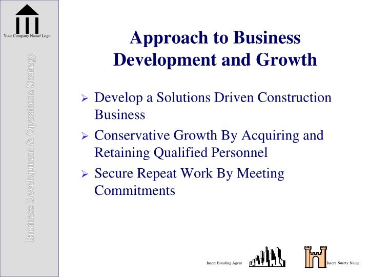Approach to Business Development and Growth