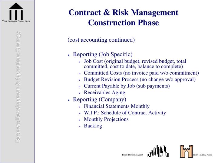 Contract & Risk Management
