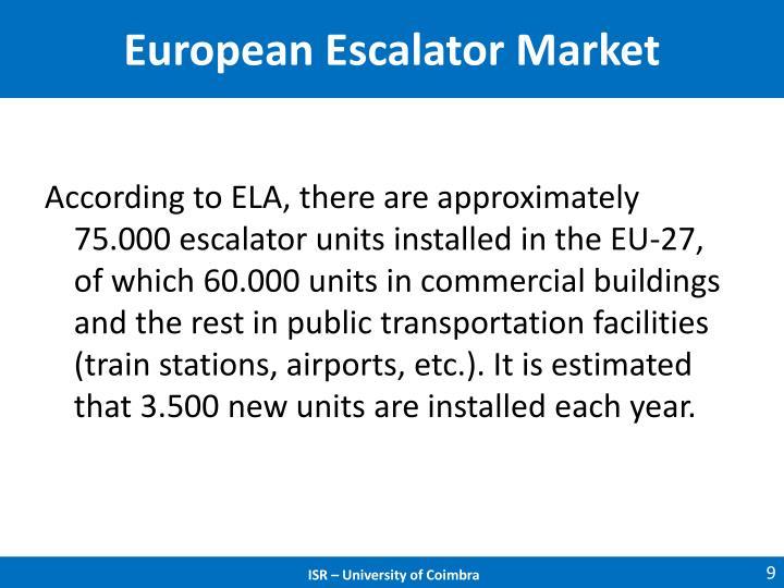 European Escalator Market