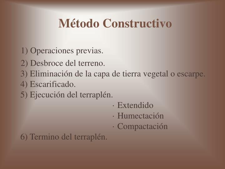 Método Constructivo