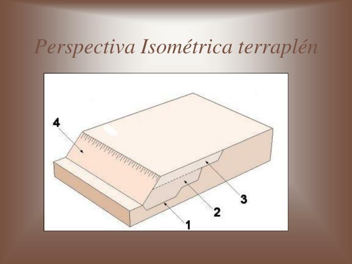 Perspectiva Isométrica terraplén