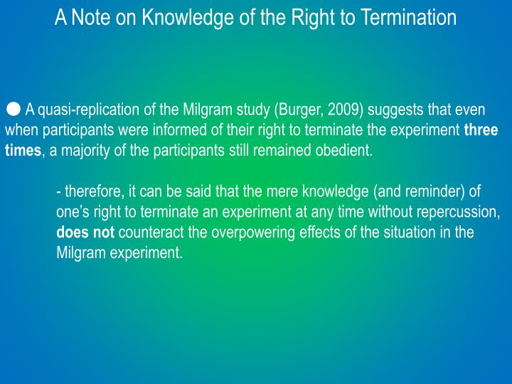 the termination essay Termination is generally viewed by psychotherapists as a complex stage of psychotherapy what does the research tell us about the affective experience of termination.