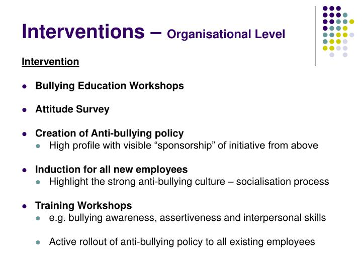 Interventions –