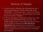 passivity of impulse