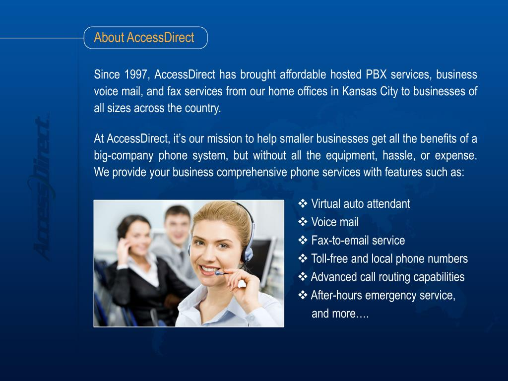 About AccessDirect