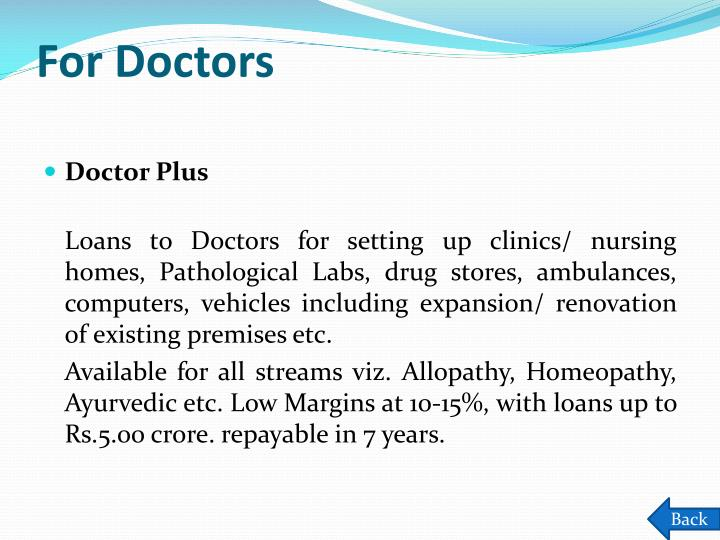 For Doctors