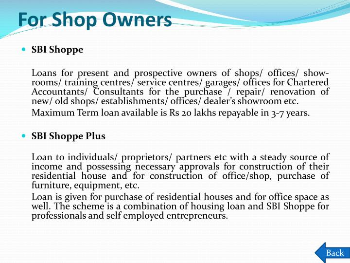 For Shop Owners