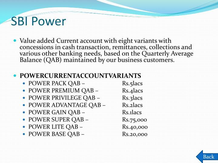 SBI Power