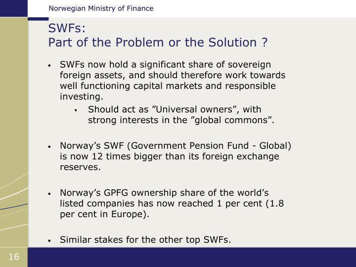 SWFs: