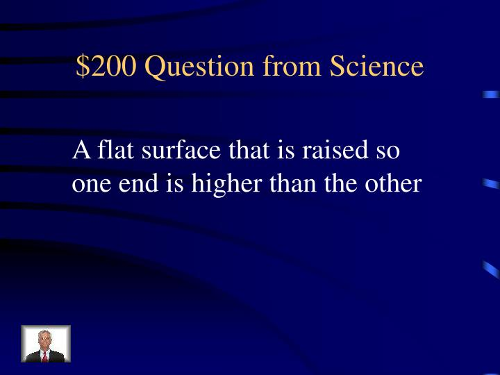 $200 Question from Science