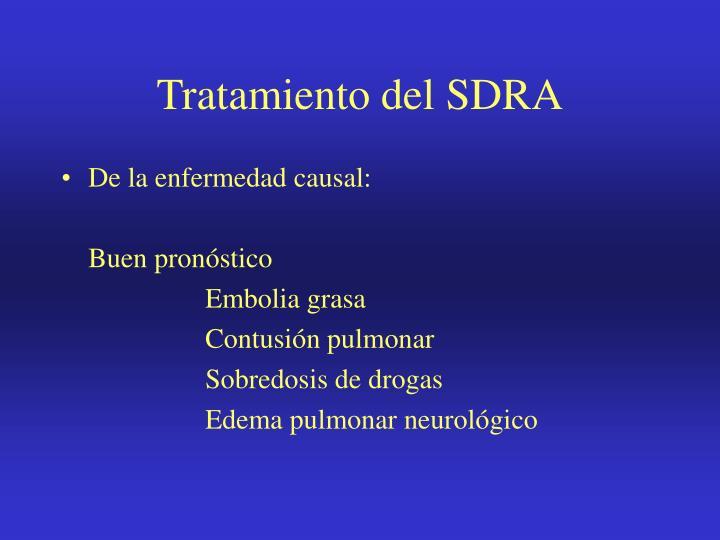 Tratamiento del SDRA