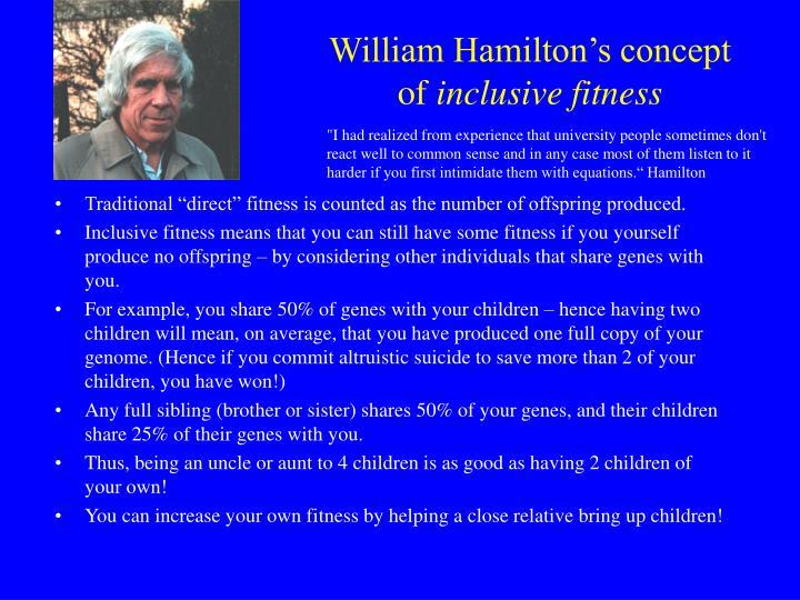 William Hamilton's concept of