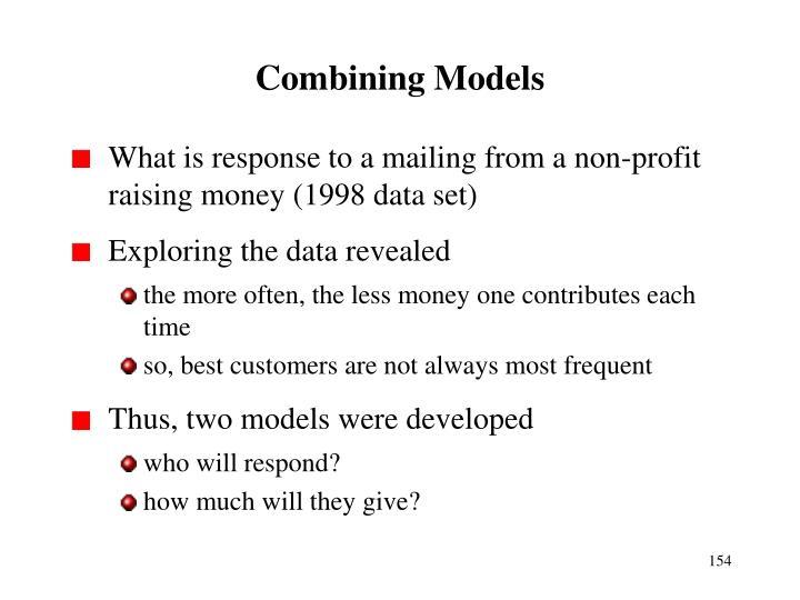 Combining Models