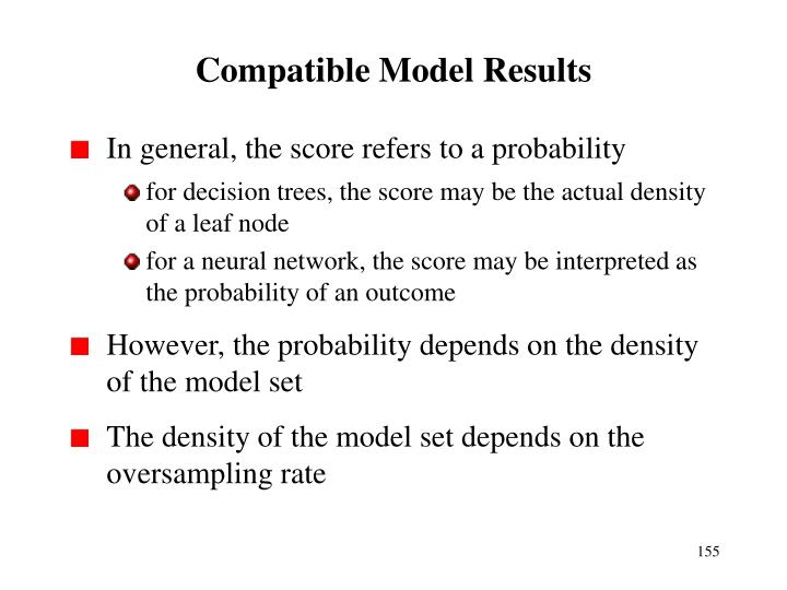 Compatible Model Results