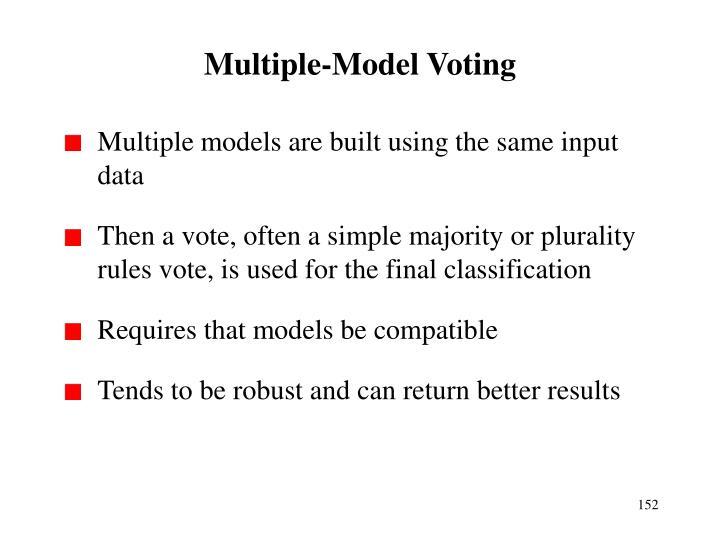 Multiple-Model Voting