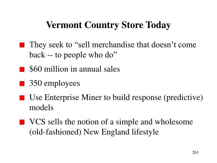 Vermont Country Store Today