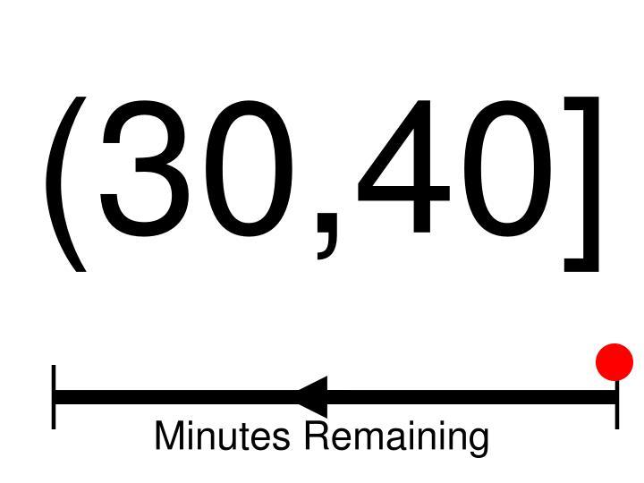 (30,40]