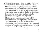 monitoring programs employed by states 21