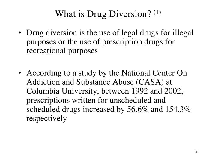 What is Drug Diversion?