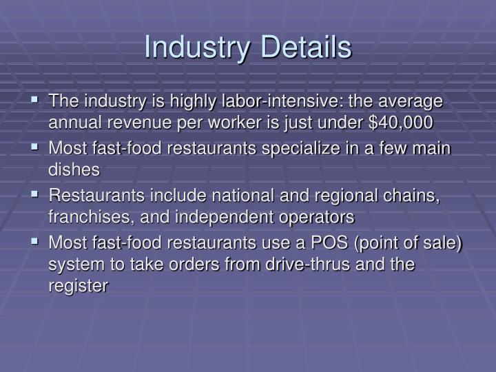 Industry Details
