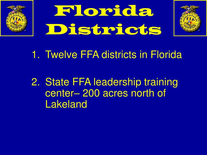 Florida Districts