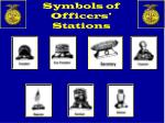 symbols of officers stations1