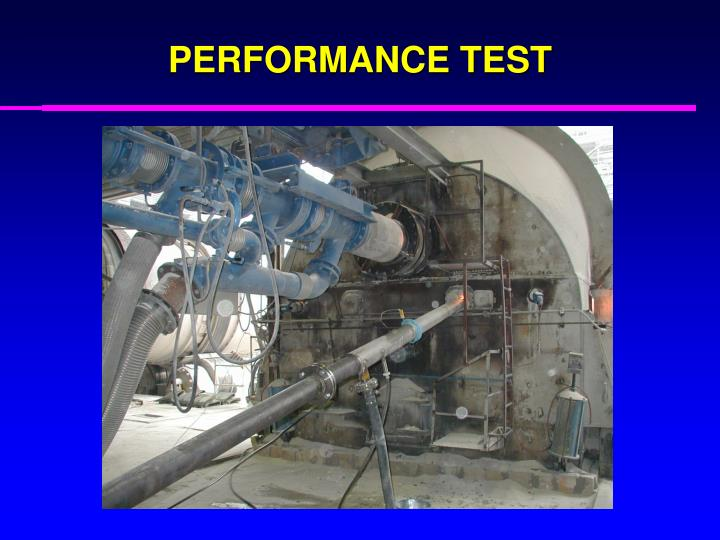 PERFORMANCE TEST