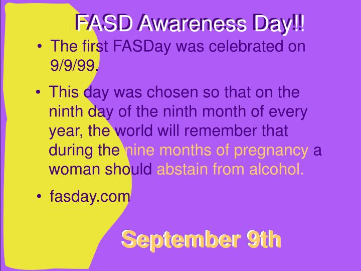 FASD Awareness Day!!