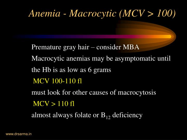 Premature gray hair – consider MBA