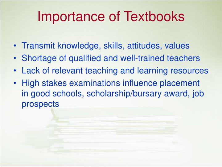 Transmit knowledge, skills, attitudes, values