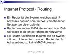 internet protocol routing1