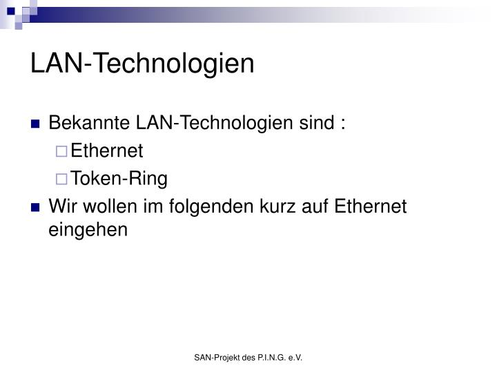 LAN-Technologien