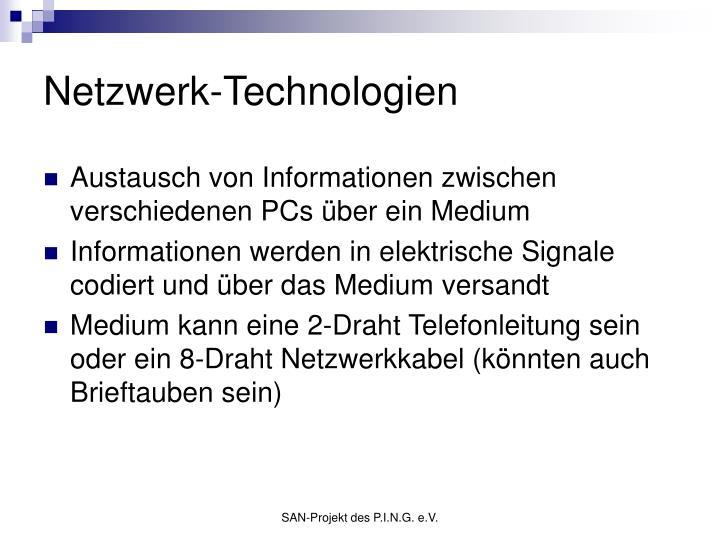 Netzwerk-Technologien