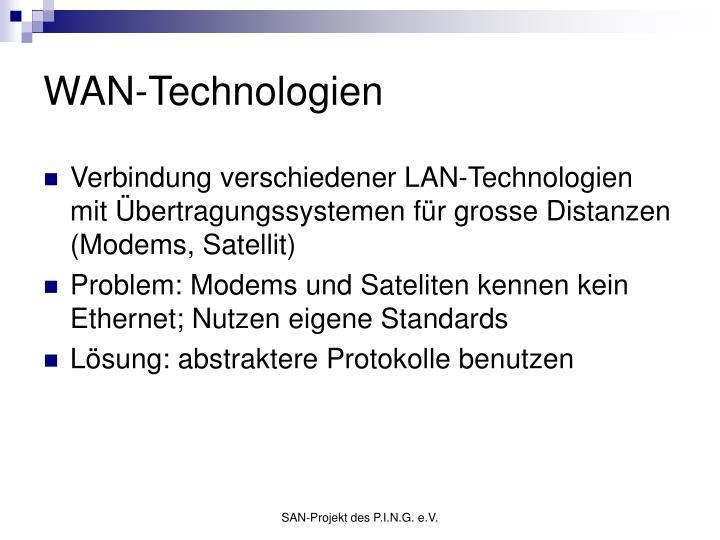 WAN-Technologien