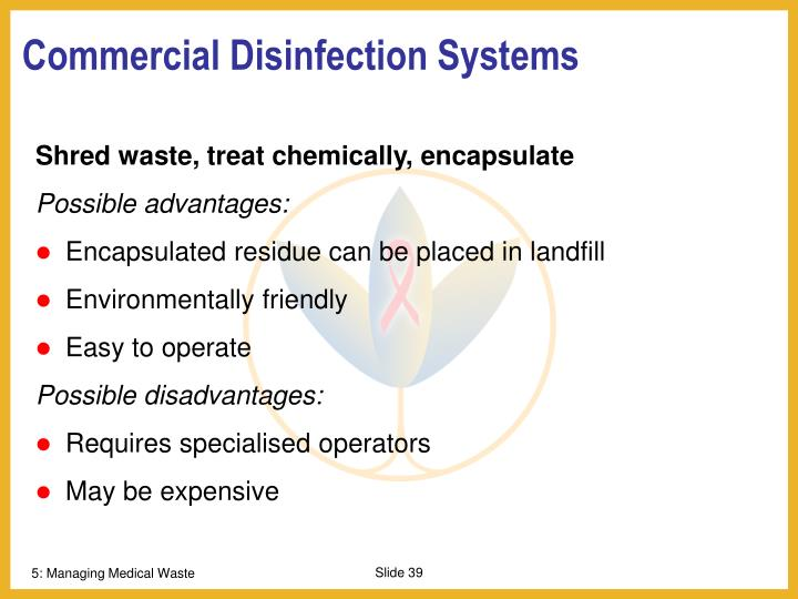 Commercial Disinfection Systems