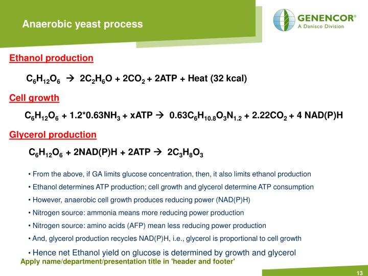 Anaerobic yeast process