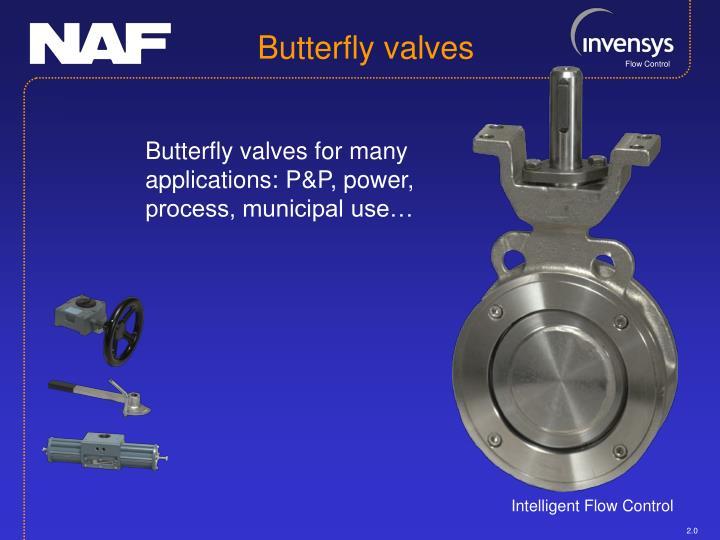 Butterfly valves